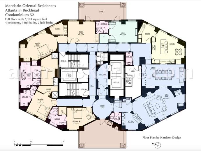 Mandarin Oriental Residence 52 Floor Plan