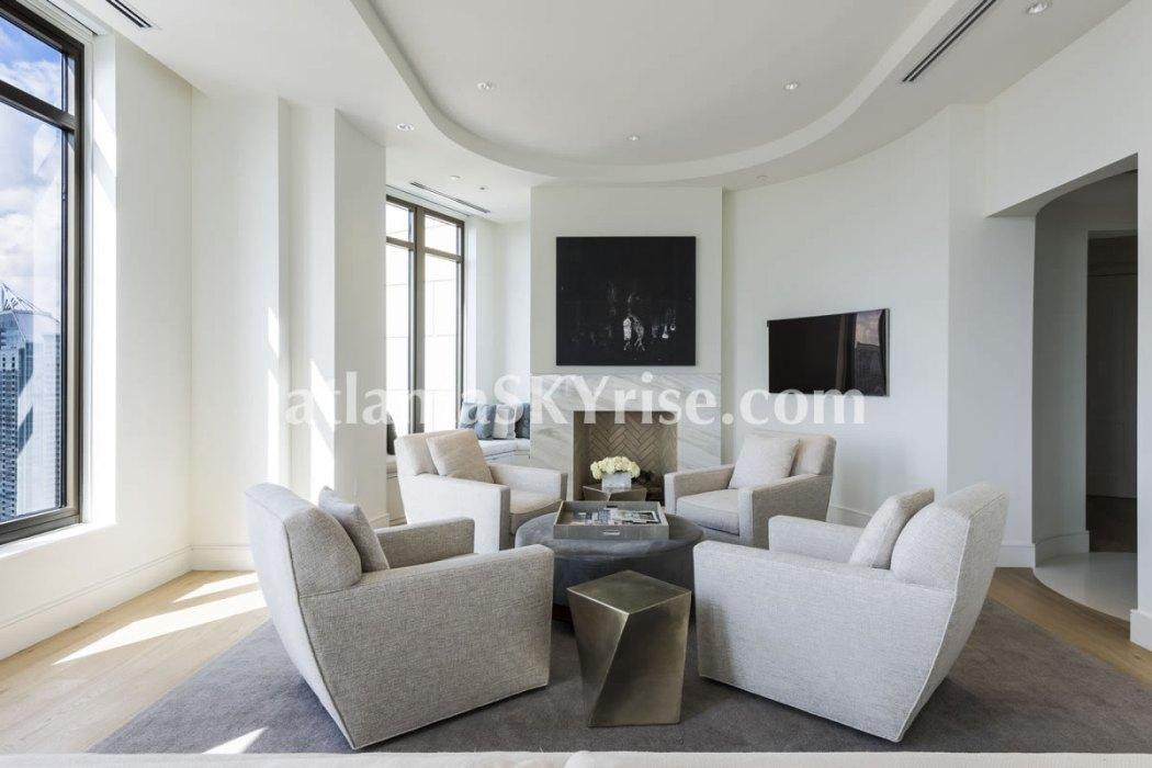 Mandarin Oriental Residences Atlanta Unit 39 Great Room 6