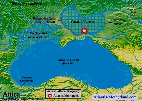 Atlantis Location