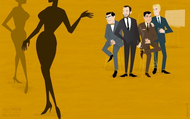 Illustrated mad men