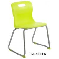 Titan AGES 7 - 9 Skid Frame Classroom Chair