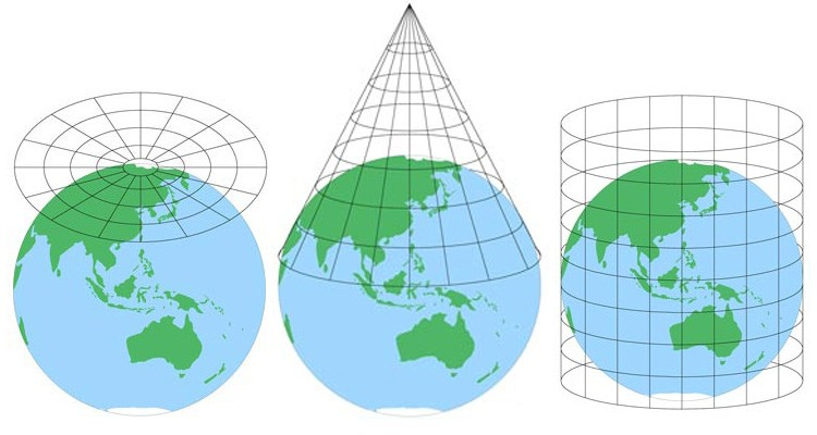 Map projections why the same world looks different Atlas  Boots