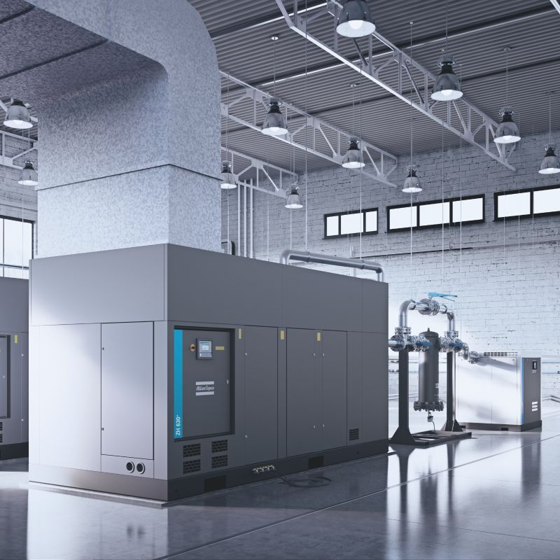 Centrifugal oil-free air compressors ZH  ZH+ - Atlas Copco UK