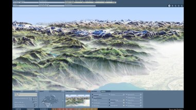 Fog (panorama): Visualization of virtual fog