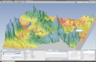 Prism map: Change from discrete to smooth prism surface, change of terrain exaggeration