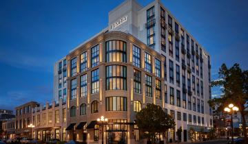 The 317-room Pendry San Diego opened in the Gaslamp Quarter in February. (Photo courtesy of Pendry Hotels)