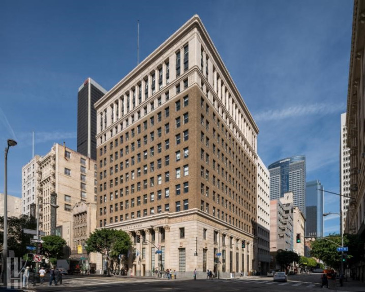 Irvine-based R.D. Olson Construction has completed renovations on the historic Bank of Italy Building, turning it into a hotel, bar and restaurant. The NoMad Los Angeles at 649 S. Olive St. includes 241 rooms, a rooftop pool and lounge and 10,000 square feet of meeting and event space. (Courtesy of Spectra)