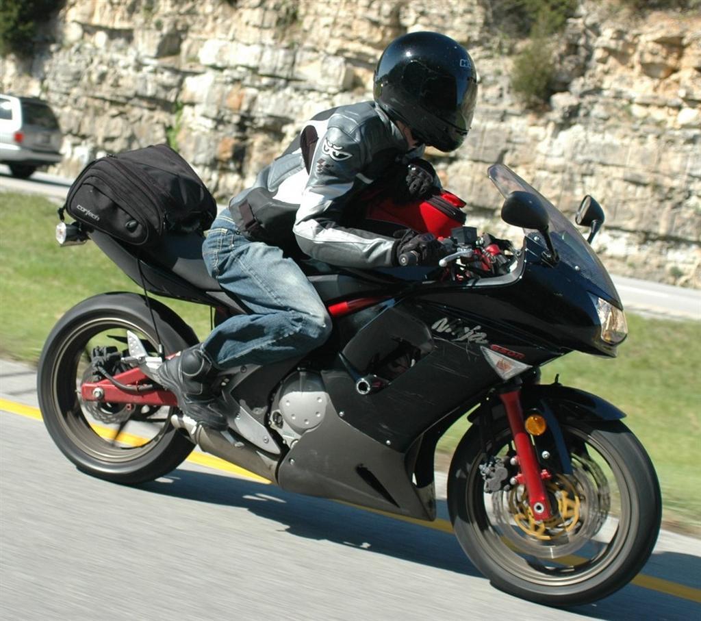 2006 Kawasaki Ninja 650r Review 40000 Miles Later Atlas Rider Wiring Harness Routing I Bought My Brand New