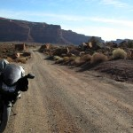 The Valley of the Gods road!