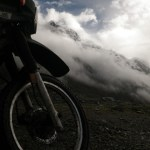 14,000 Foot Pass in The Peruvian Andes Mountains