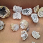 Our Haul of Geodes