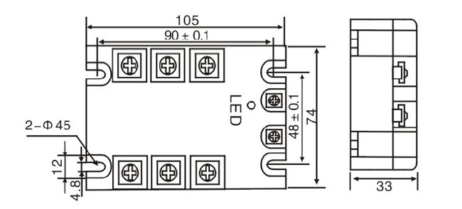 solid state relay heat
