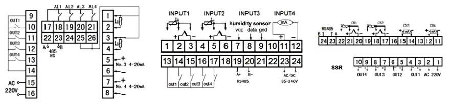 PID Temperature Controller, Multi Channel ATO