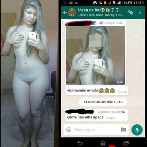 Loira bucetuda mandando nudes para o namorado-28885