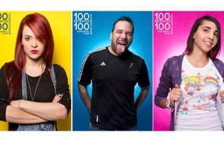 100 RETRATOS 100 POPULARIZADO EN LAS REDES SOCIALES
