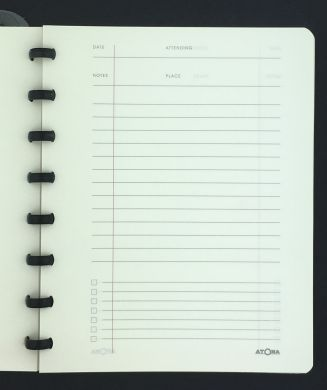 Atoma for the Antipodes - The Original Disc-Bound Notebooks - A5