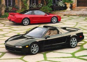 The NSX: sold right alongside commuter vehicles. How unethical!