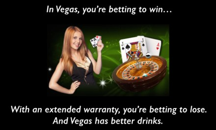 Extended Warranties vs Las Vegas