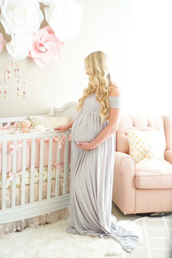 Blogger Katelyn Jones A Touch of Pink Nursery Tour