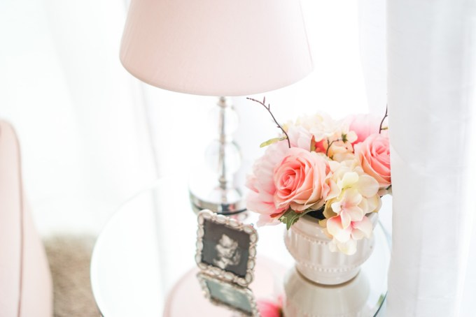 Blogger Katelyn Jones A Touch of Pink Girl Nursery Decor