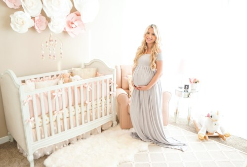 Medium Of Baby Girl Nursery