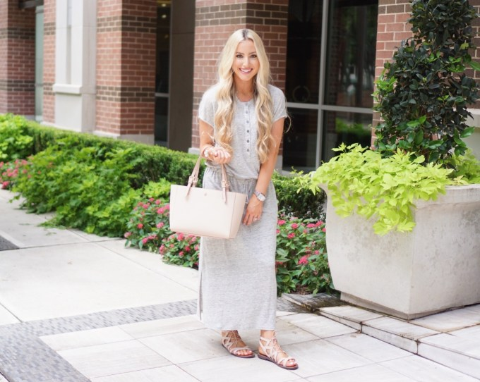 Katelyn Jones A Touch of Pink Blog Maxi Dress Nordstrom