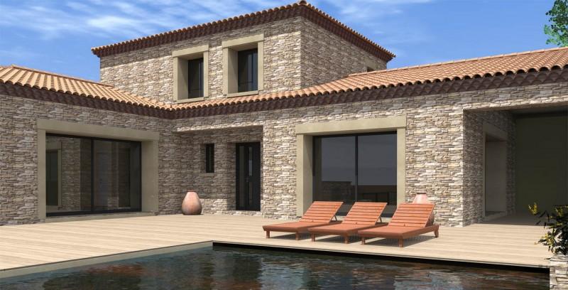 Villa méditerranéenne_ Atoutplans Architecture
