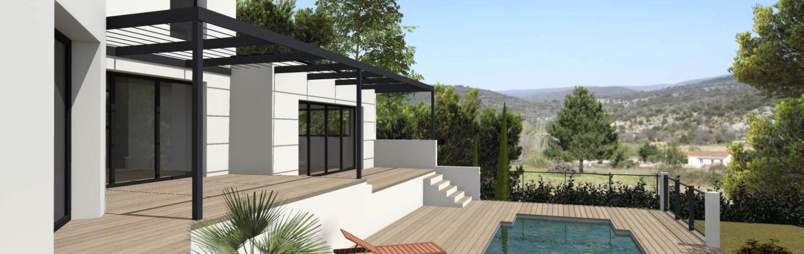 Methamis 84 Villa contemporaine_ Atoutplans Architecture