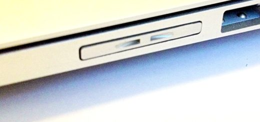 MiniDrive Air on the MacBook Air. Pretty good fit