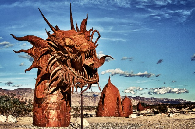 Dragon Sculpture, Anza Borrego State Park, California