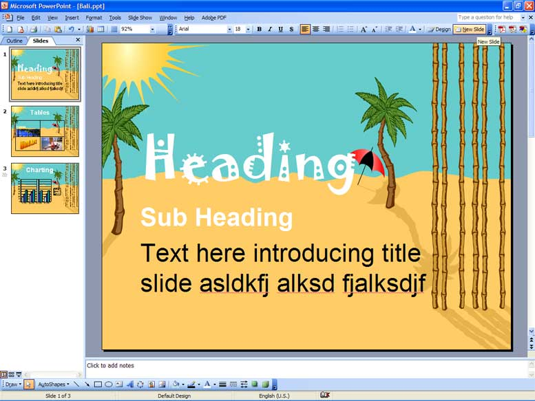 Atrixware » Blog Archive What Makes a PowerPoint Slide Good? - Atrixware