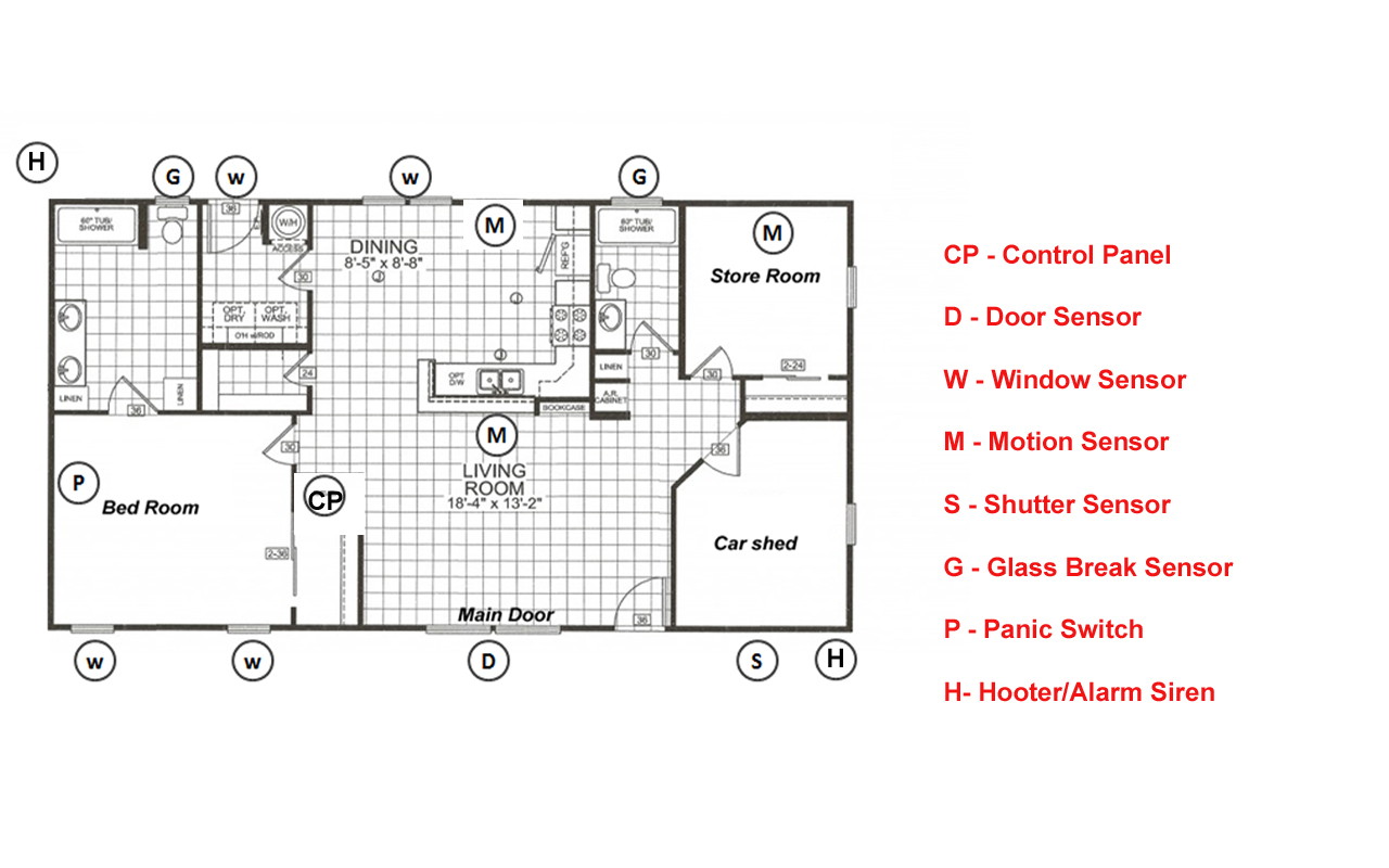 security alarm system wiring diagram
