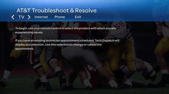 Troubleshoot  Resolve Tool on Your U-verse TV - U-verse TV Support