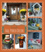 Simple Front Porch Fall Decorating Ideas