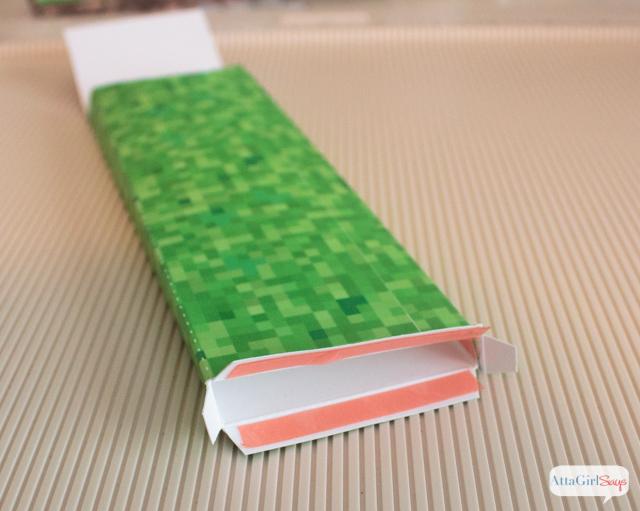 DIY Minecraft School Supplies Pencil case  notebook cover - Atta