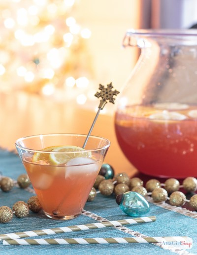 Holiday Punch Recipes: Vodka & Bourbon Spiked Punch