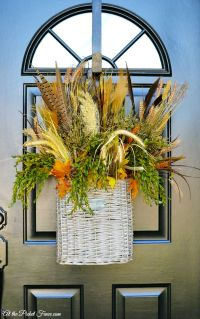 Front Door Fall Wreaths - Photos Wall and Door ...