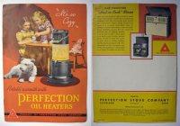 Perfection Oil Heaters ~ Vintage Brochure, Vintage ...