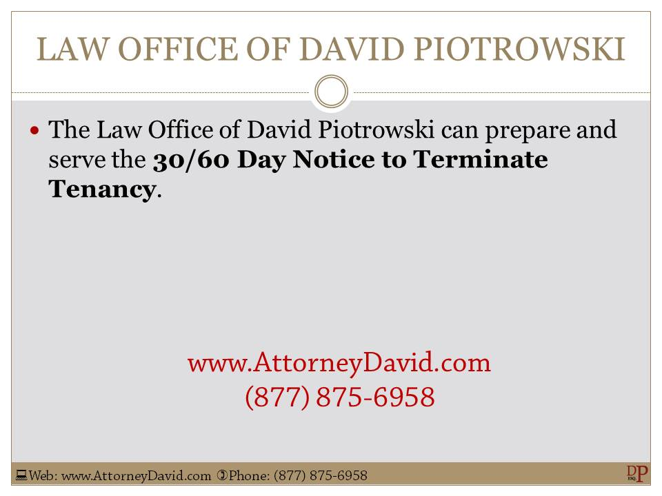 60 Day Lease Termination Notice Template - Costumepartyrun