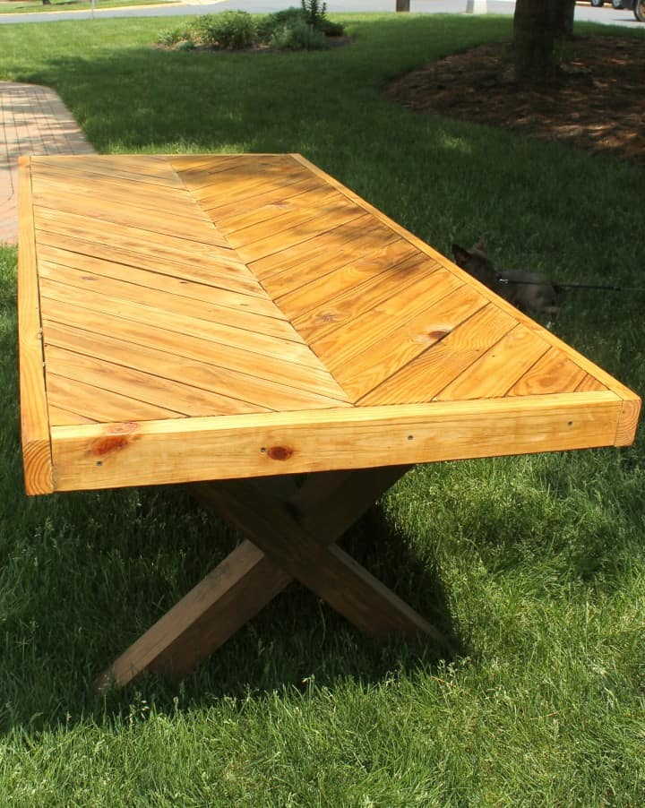 Diy Picnic Table A Turtle39s Life For Me