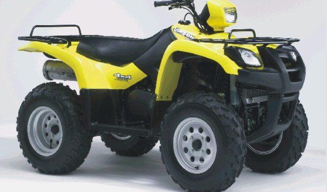 DOWNLOAD 2002-2007 Suzuki Vinson LT-A500F Repair Manual -