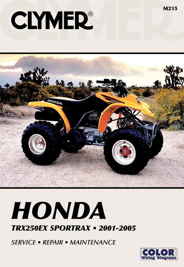 2001-2005 Honda TRX250EX Clymer ATV Manual Released