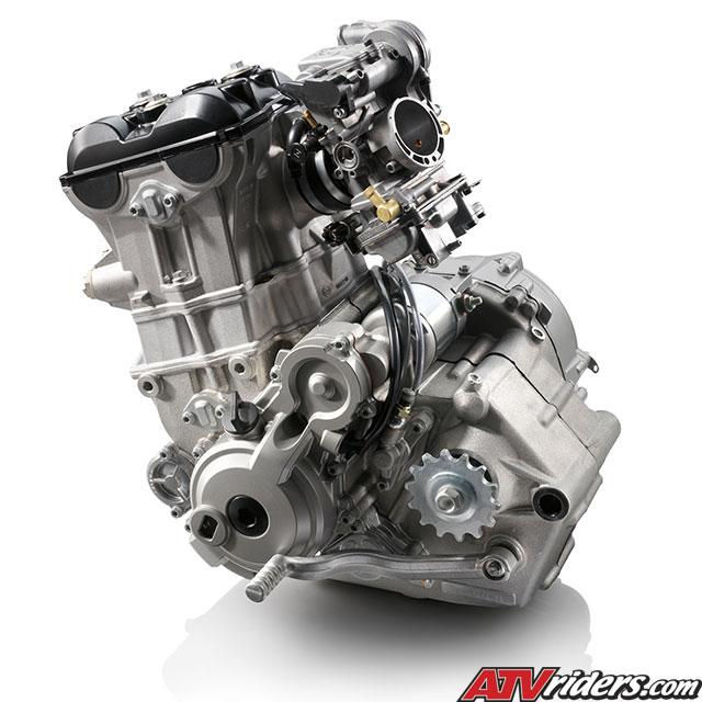 2009 KTM 450SX and 505SX Race Ready ATV Technical Info - Engine