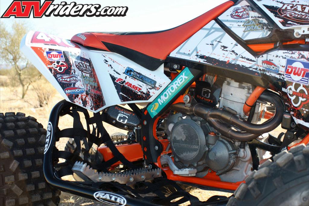 Quad of the Month - November 2012 - Conrad Funke\u0027s KTM 450 Sport ATV