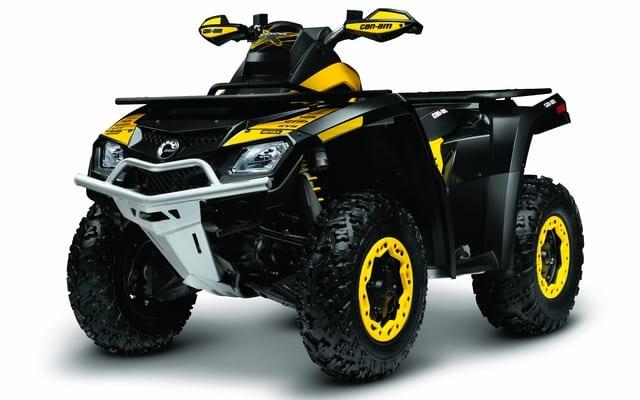 2011 Can-Am Outlander 800R X-XC Review  Long Term ATV Trail Rider