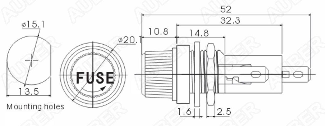 cartridge fuse box