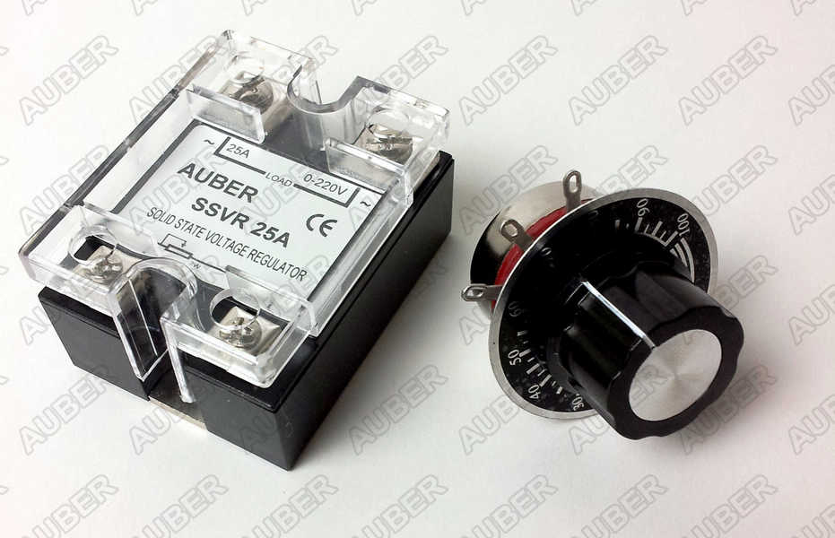 25A Solid State Voltage Regulator, High power SCR, SSVR SSVR25A