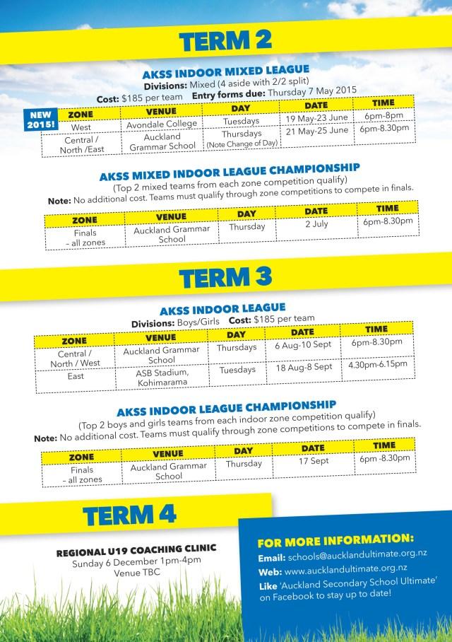 Schools Schedule-2