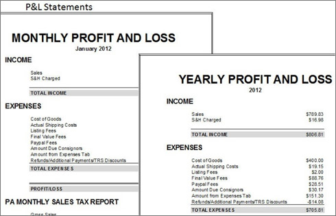 Easy Auctions Tracker An \u0027Ultimate eBay Spreadsheet\u0027 for Accounting