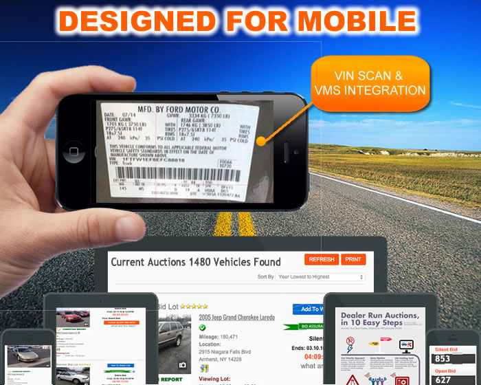 Car Auction Software, run your own private wholesale auction or bid